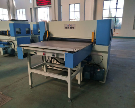 Precision Four-Column Hydraulic Plane Single Side Feeding Cutting Machine pictures & photos