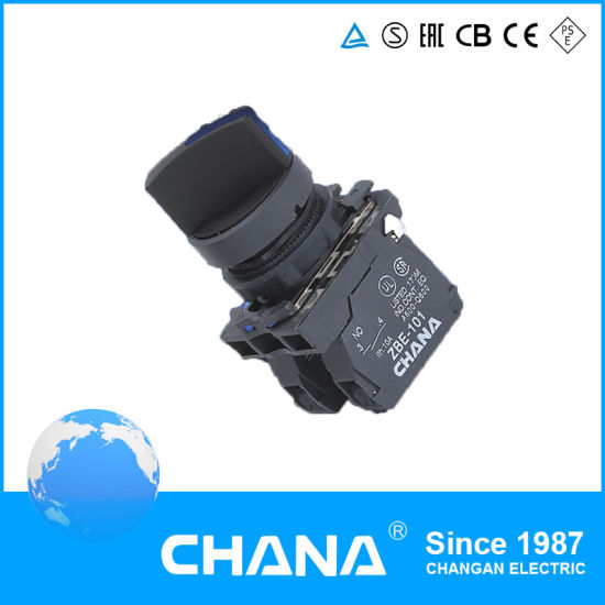 CB5-Ad21 Pushbutton Switch with Standard Handle Knob N/O 22mm