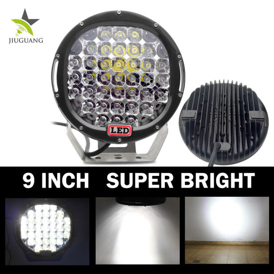 Best Selling Wholesale Round Waterproof Angel Eyes Jeep Wrangler 185W 9 Inch LED Working Light pictures & photos