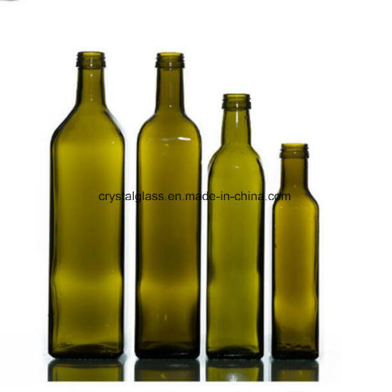 Kitchen Use Brown Cooking Oil Packing Glass Botles pictures & photos