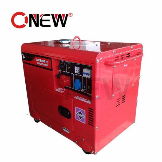 China Fuel Less 5 Kva Soundproof 3 Phase Portable Generator Price List Silent Sri Lanka China 5kva Generator 5 Kva Generator Diesel