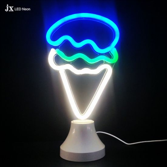 5V Colorful Ice-Cream LED Neon Light Lamp for Home
