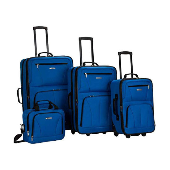 Leisure Large Capacity Portable Travel Bags Trolley Oxford Luggage Set