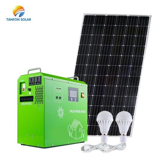 China 2000 Watt Solar Panely Portable Solar Panels For Camping Generator China Solar Generator Portable Solar System