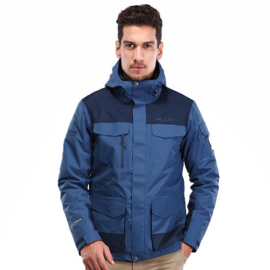 Customized Design Long Sleeve Windbreaker Waterproof Jacket