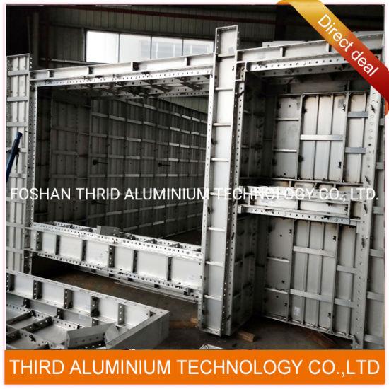 Extruding Aluminium Profiles of High Rise Building Formwork System