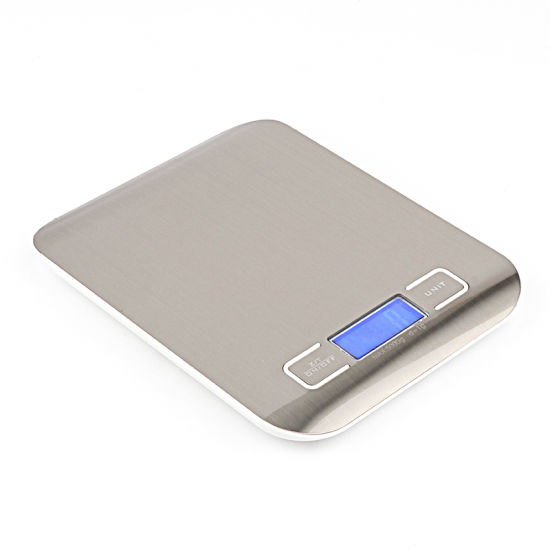 Stainless Steel 11 Lb / 5000g Digital Scale Kitchen Cooking Measure Tools