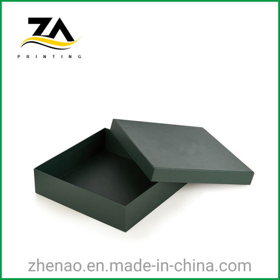 High Quality Custom Colorful Strong Paper Green Gift Box