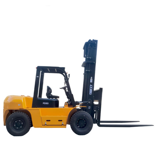 Fast Delivery Factory Price New Hydraulic Diesel Forklift Truck 1.5 Ton 3 Ton 5 Ton 8 Ton 10 Ton Forklifts with Japanese Engine, Side Shift and CE
