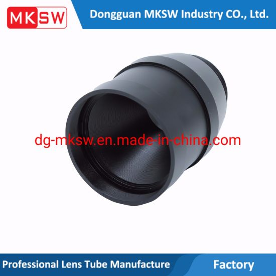 Anodizing Auto Part CNC Hardware Machining Parts Camera Lens Tube CNC Machining Parts