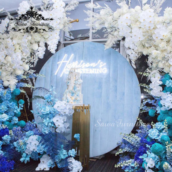 China Sawa 2020 Hot Sale Pvc Backdrop For Wedding Decoration