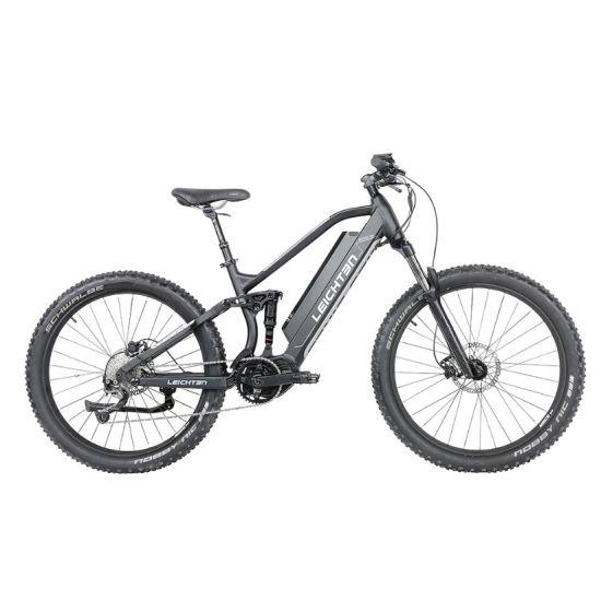 Full Suspension Aluminum Alloy Intelligent Brushless MID Drive Electric Mountain Bike