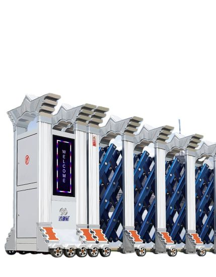 Aluminum Expandable Gate Automatic Retractable Gate for Company