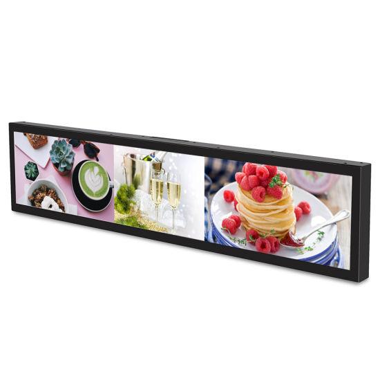 Wholesale Indoor Shelf LCD Screen Video Displayer Retail Smart Supermarket Shelf Screen