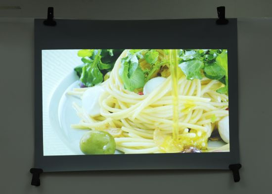 Self Adhesive Clear Rear Projection Screen Film, Holographic