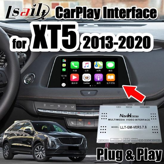 Lsailt Carplay/Android Auto Interface for Cadillac Xt5 ATS Srx Xts 2013-2020 Support Youtube, WiFi, Google Map, 360 Cameras pictures & photos