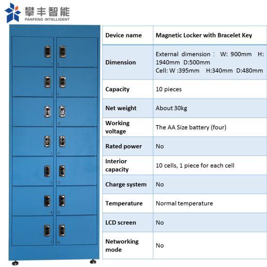 Sheet Metal Intelligent Smart Gym School Community Parcel Delivery Storage Magnetic Card Locker
