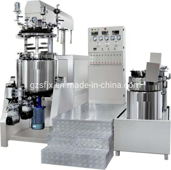 Mayonnaise Vacuum Emulsifying Mixer with Circulating Emulsion System
