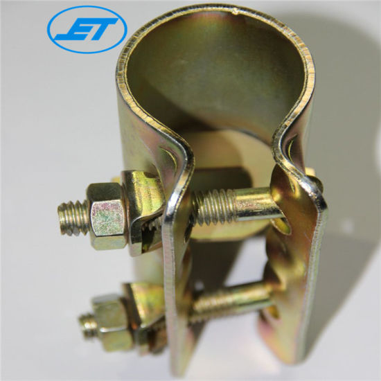 Jet. En74 BS1139 China Supplier British Scaffolding Fitting Scaffold Clamp Pressed Sleeve Coupler