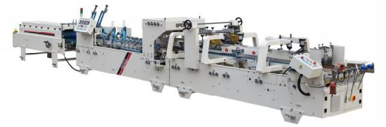Automatic High Speed Folder Pre-Fold and Crash Lock Bottom Folder Gluing Machine Shh-AG
