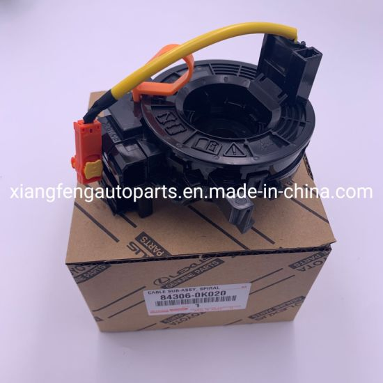 Auto Electrical Spiral Cable 84306-0K020 84306-0K021 for Toyota Hilux Kun25 pictures & photos