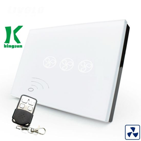China Us Standard Home Smart Remote Control Fan Switch (KSS