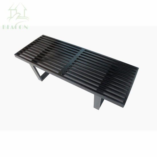 Incredible Leisure Mod Mid Century George Nelson Style Platform Bench Theyellowbook Wood Chair Design Ideas Theyellowbookinfo