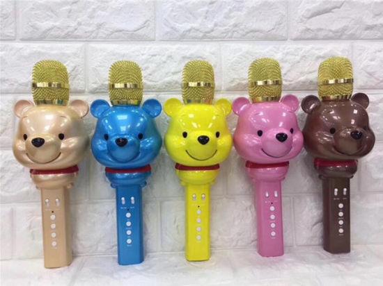U70 Litter Lovely Bear Bluetooth Microphone Multi-Functional Magic Voice Umlaut Wireless Card Microphone