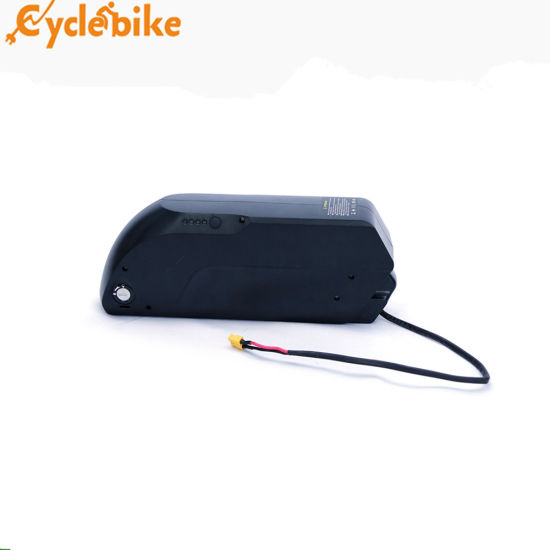 48V 12Ah TIGER SHARK Battery for Electric Bicycles Lithium E-Bike white 500W