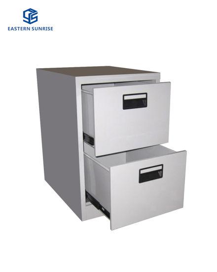 2 Drawers Vertical Steel Filing Cabinet, File Cabinet 2 Drawer Metal