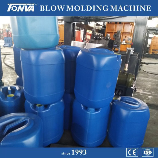 Automatic Plastic Jerrycan Production on Extrusion Blow Molding Machine Price pictures & photos