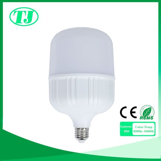 LED Light Bulb Aluminium Plus PBT Plastic E14 E27 B22