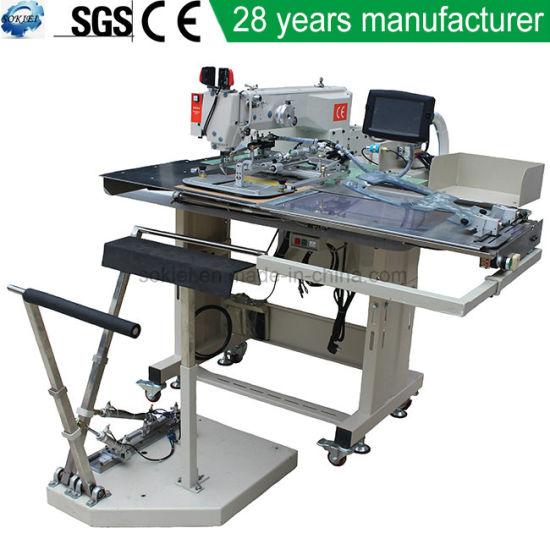 Automatic Jeans Pocket Designer Pattern Sewing Machine