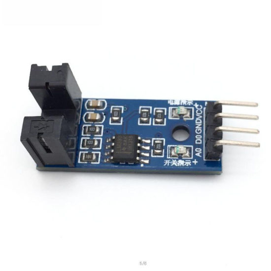Groove Coupler Slot Type IR Optocoupler Speed Sensor Module Lm393 for  Arduino