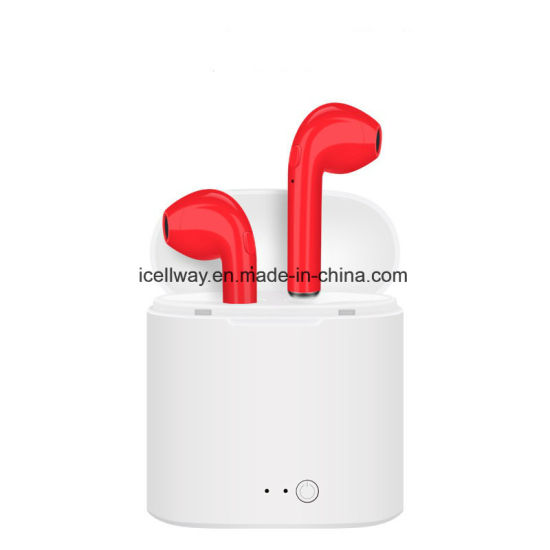 I7s Tws Earbud Wireless Bluetooth Earphones Mini Twins Phone Earpieces Stereo Music Headset for Apple iPhone Samsung pictures & photos