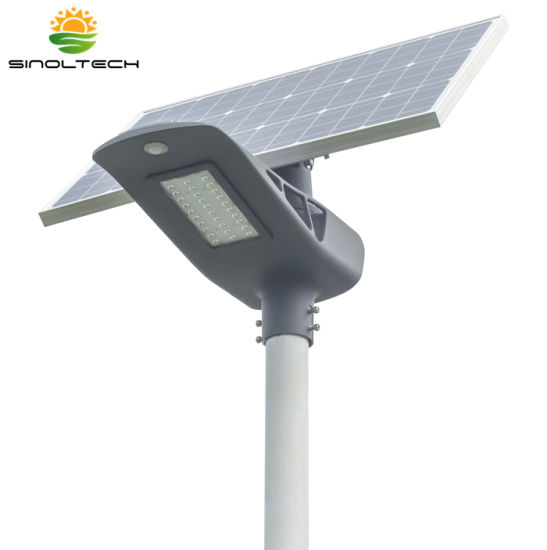 Elite G03 Series 2600 Lumens 20W LED Solar LED Street Lights Solar Light for Parking Lot with 3-4 Rainy Days Design (G03-20W) pictures & photos