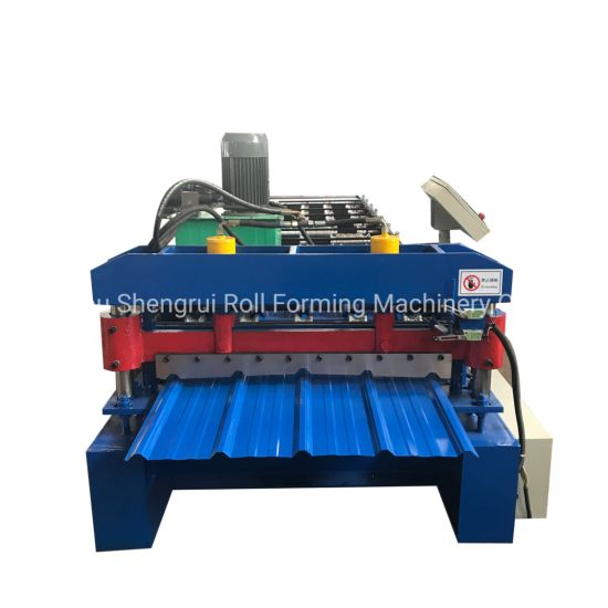 China High Speed Roof Sheet Roll Former Machine