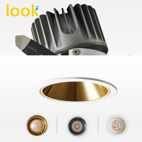 COB Anti-Glare LED Light Professional Interior LED Ceiling Downlight Spot Light