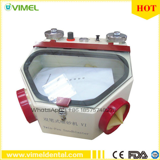 Dental Sandblaster Dental Laboratory Equipment Sandblasting Machine pictures & photos