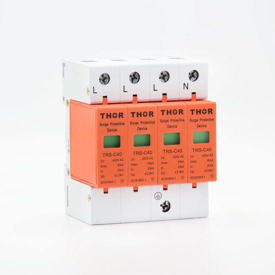 House Surge Protector Under Voltage Protection Device 40ka Surge Protections SPD pictures & photos
