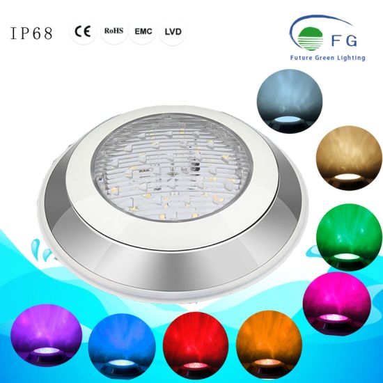Smart RGB+CCT Multi-Color 12W 24V LED Underwater Swimming Pool Lighting pictures & photos
