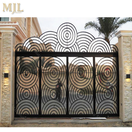 China High Quality Iron Gate Design Modern Main Gate Designs China
