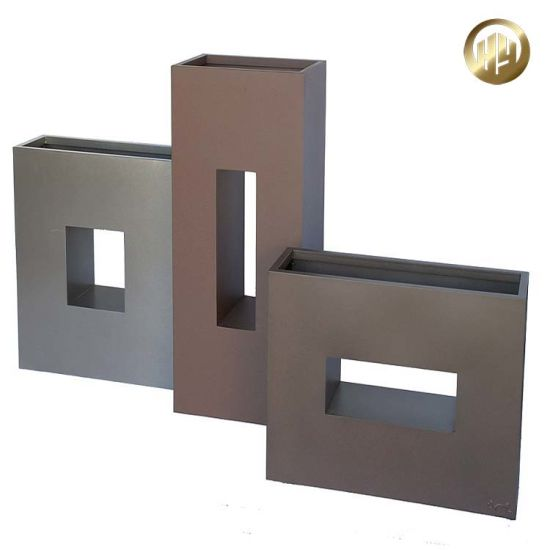 Customized Assembly Aluminum Metal Decorative Planter