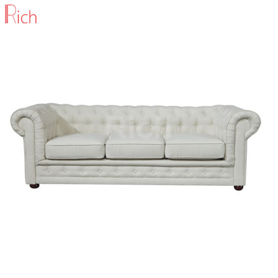 China Best Selling Living Room Furniture Fabric Chesterfield ...