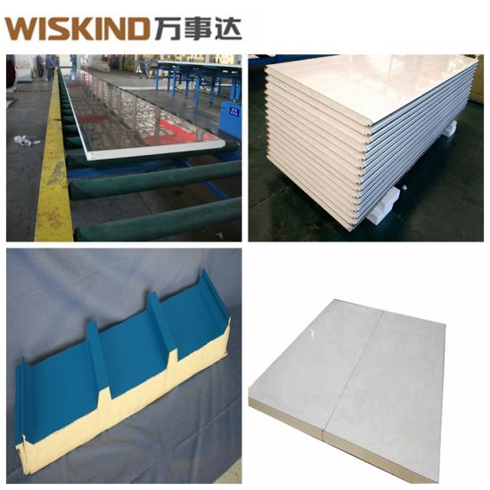 PU (Polyurethane) / PIR Sandwich Panel with Bluescope Steel Plate and Top  Quality