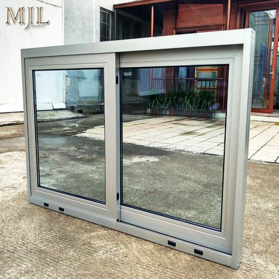 modern house windows residential modern house energy saving burglar proof colored glass aluminium sliding window china