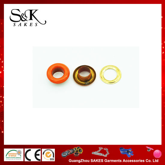 Best Quality Metal Brass Eyelet with Painting Color
