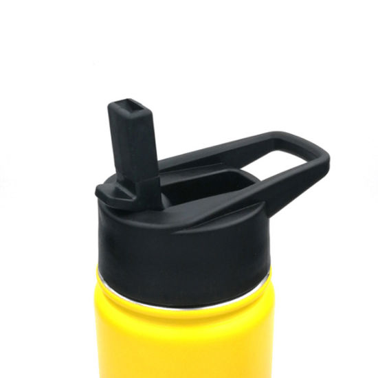 Plastic Vacuum Flask Lid for Stainless Steel Wide Mouth Double Wall Vacuum Insulated Water Bottle