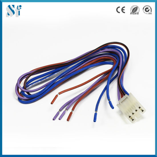 china manufacture 18awg universal automobile wiring harness for car rh shuofeng188 en made in china com Automotive Harness Automotive Wire Harness Kits