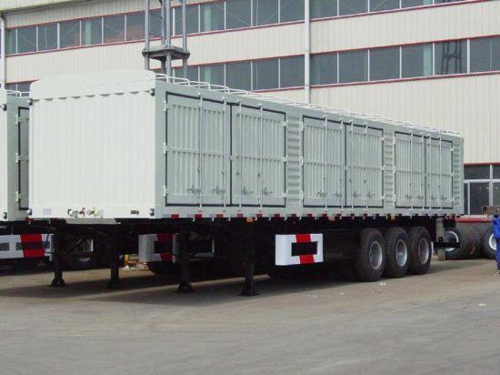 Production factory car semi-trailers